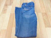 Diesel Jeans Rare Size 27 Slim Fit Hip Huggers