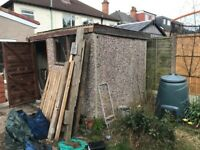 Concrete Garage / Shed Panels
