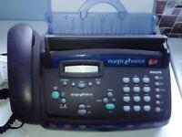 philips fax machine model pff740,
