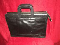 Antler Black Leather Folio / Brief case