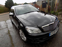 A VERY NICE 6 SPEED MANUAL C CLASS MERCEDES 200 SALOON VERY CLEAN IN AND OUT