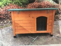 Small Dog Kennel ( or good for a rabbit hutch/hen house . Never been used
