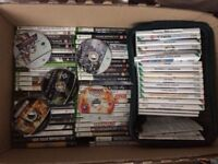 X box and x box 360 plus Xbox games