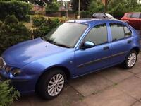 Rover 25 1.4L Petrol.