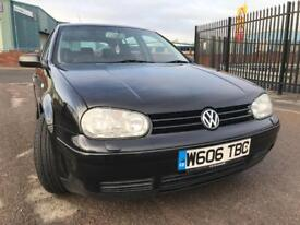 Mk4 golf 1.8 turbo 150 bhpGTI fully loaded with low mileage 86k