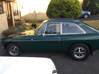 MGB GT 1976