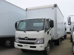 2017 Hino 155-149 Cab/Over with a 18 ft. van body