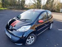 2007 PEUGEOT 107 1.0 XS SPORT M,O,T AUGUST CHEAP TAX £20 A YEAR