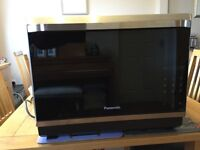 NEW Panasonic combination microwave/conventional/fan oven with grill