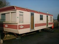 Torino 28 caravan 28' x 10' off site