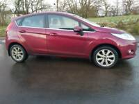 Ford Fiesta 1.6 TDCi Zetec 5dr with BLUETOOTH ALLOYS AIR CON FULL SERVICE HISTORY