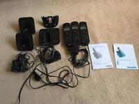 Philips Cordless Trio Phones