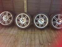 Audi wheels and new tyres