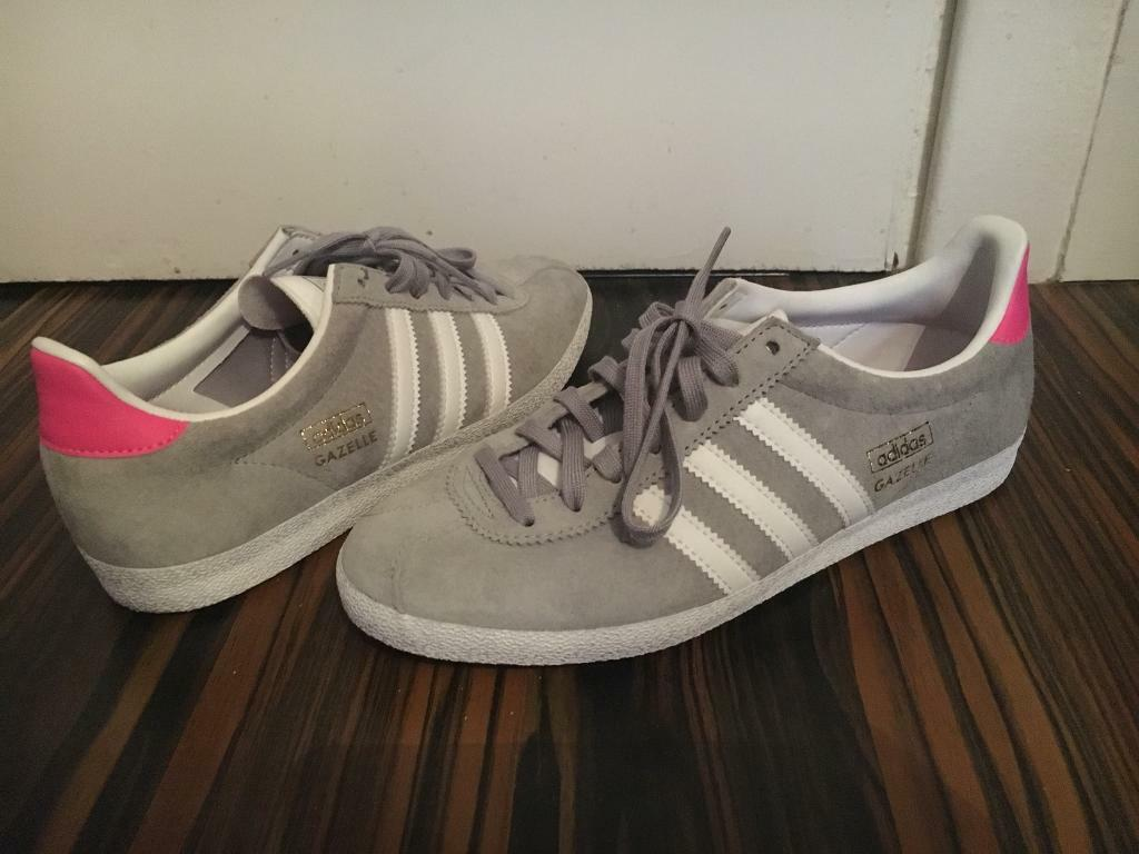Adidas Gazelle Ladies Shoes Size 5 Like New For Sale in