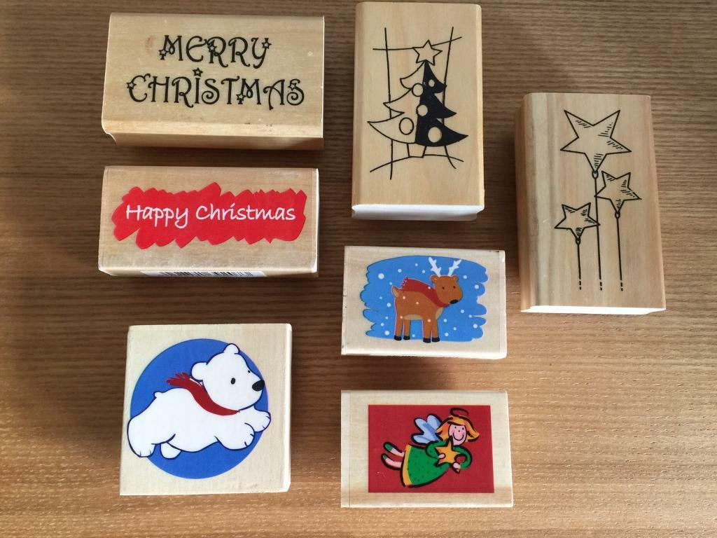 Christmas Themed Rubber Stamps Card Making   in Waterlooville ...