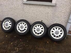 Alloy wheels. Audi or VW. 15 inch