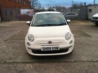 Fiat 500 1.2 pop white recently been service