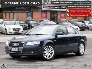 2006 Audi A4 3.2 ACCIDENT FREE! 2 YEAR WARRANTY!