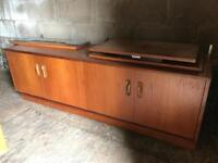 G Plan sideboard with shelving