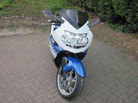 BMW K1200s Super Sports Tourer With BMW Genuine Panniers And Upgraded Screen