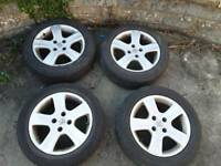 Peugeot alloy wheels x4 205 55 16