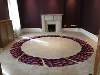 Luxury Embroidered Used Carpets - RRP £100k