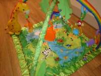 Fisher Price rainforest baby playmat/gym