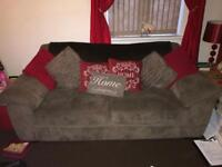 *REDUCED* Harvey's Sofa, Chair & Footstool