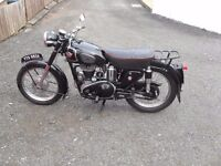 WANTED VINTAGE /CLASSIC MOTORCYCLES any condition