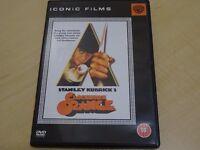A CLOCKWORK ORANGE - DVD - PERFECT CONDITION