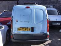 2 Renault Kangoo vans for sale