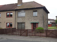 3 Bedroom End Terrace house in Kelty Fife great outlook, large bedrooms, garden exceptional vale