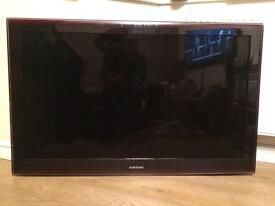 "Samsung 42"" Plasma with 5.1 Surround Sound DVD Player"
