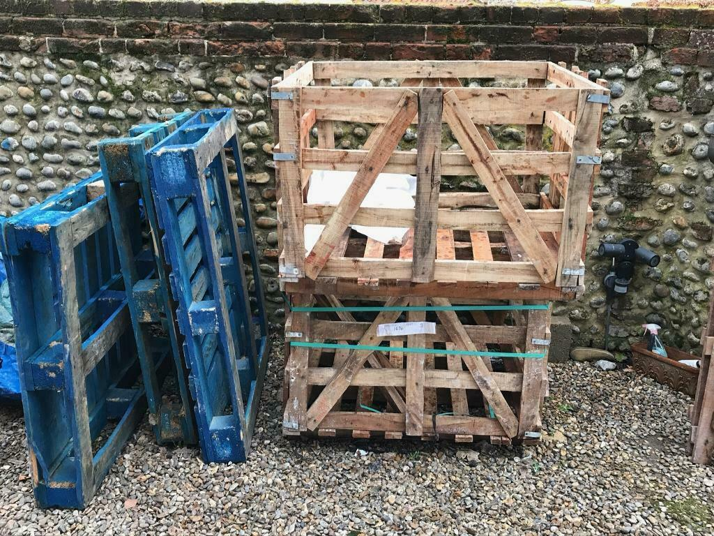 Timber pallets and crates | in Norwich, Norfolk | Gumtree