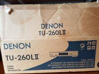 New Denon Tuner and used Denon CD Auto Changer + Jamo Speakers
