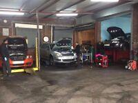 mot station & car repairing workshop for sale
