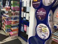 Lease hold for News agent and Off license includes lottery and payzone machines
