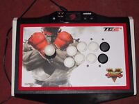 rare Mad Catz Street Fighter V Arcade FightStick Tournament Edition 2+ ps4 ps3