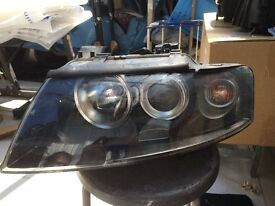 AUDI A4 2007 CONVERTIBLE GINUINE LEFT HEADLIGHT 8H0 941 003 AD