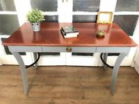 Desk/ Table Free Delivery Ldn shabby chic solid wood console table
