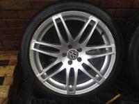 Audi rs4 18 inch alloys 5x100