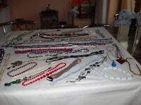 bead and necklace 45 different items open to others