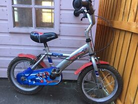 Boy's bike for sale: Apollo Rocketman. Age 4+. Collection only.