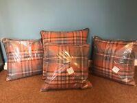 Next tartan cushions