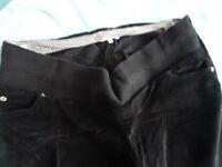 Mamas & Papas Black Maternity Trousers - Size 14