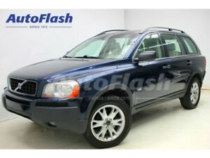 2004 Volvo XC90 3.2L V6 Level-2 *Cuir/Leather* 7-Passagers *