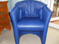 Tub Chair Armchair Faux leather