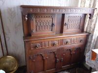 Wooden Vintage Sideboard