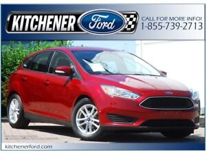2015 Ford Focus SE SE   REAR CAM   ONLY 50K KM'S   GREAT PRICE!