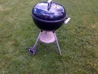 large Weber bbq barbeque